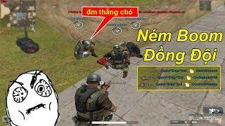 Troll Mất Dạy #3: Ném Boom Trêu Tức Đồng Đội Hài VL | TQ97