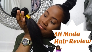 ALI MODA (AliExpress) PERUVIAN STRAIGHT HAIR 16,18, 20 |  GREAT AFFORDABLE HAIR | BEAUTIFUL REBEL