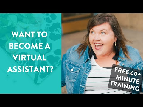 Make BANK as a Virtual Assistant (FREE TRAINING!) - YouTube