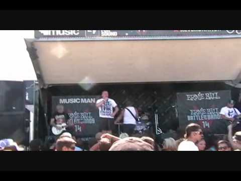 Warped Tour 2010 -The Ellis Armor *LIVE*