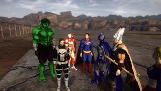 Superheroes Battle Royale