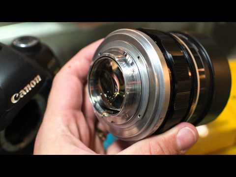 Canon-Leica Frankenstein - with f0.95 lens!