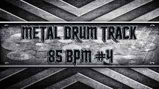 Slow Extreme Metal Drum Track 85 BPM (HQ,HD)