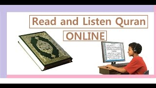 Read and listen Quran ONLINE