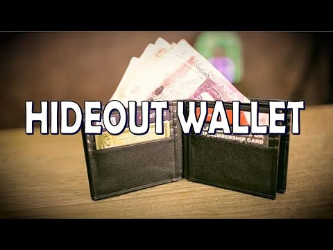 The Hideout Wallet By Outlaw Effects