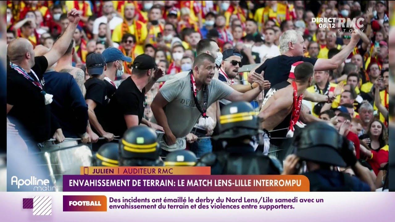 On revient sur les incidents survenus à la pause du derby Lens-Lille
