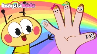 Finger Family Song | Bee Finger Family And Many More Nursery Rhymes for Children | HooplaKidz