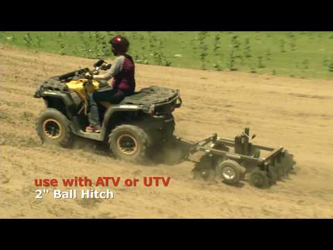2021 DR Power Equipment DR ATV Disc Harrow in Walsh, Colorado - Video 1
