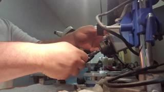 How to bend a Pinewood derby axle www.derbydad4hire.com