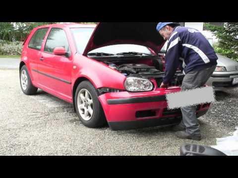 VW GOLF Kotflügel tauschen