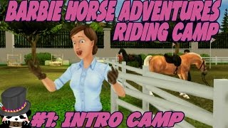 Barbie Horse Adventures: Riding Camp (Commentary) Part 1: Intro Camp