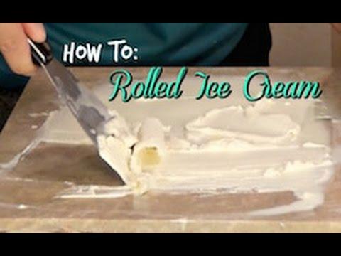 Video How to make Ice Cream Rolls using Dry Ice! DIY  | S'more Shaina