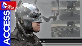 Batman v Superman Secrets: Tech Cowl, Grappling Gun and Batarang