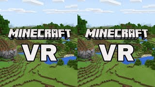 Minecraft VR SBS 3D VR Video (Google Cardboard, Oculus Rift, VR Box 3D)