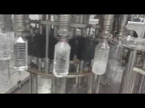 Automatic Water Bottle Filling and Capping Machine