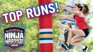 American Ninja Warrior Junior: 10 Epic Runs from Season 1! | Universal Kids