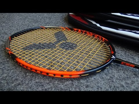 Victor Thruster K30 Badminton Racket Review by ClubRackets.com