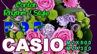 Contoh Rhythm / Style POP Casio MZX500 MZX300