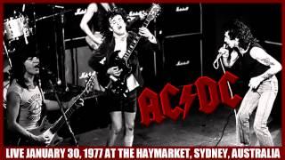 AC/DC The Jack LIVE: At The Haymarket, Sydney, Australia January 30, 1977 HD