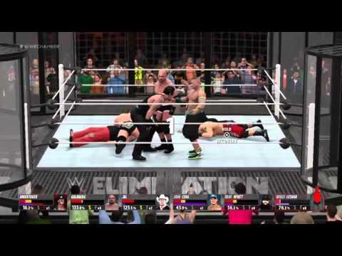 WWE JBL Vs Undertaker vs Goldberg Vs Brock Lesnar Vs Bray Wyatt Vs John Cena