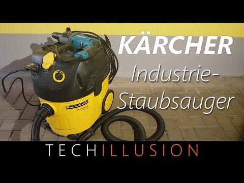 🛠KÄRCHER Industriestaubsauger im Test - Kärcher NT 35/1 Tact Te - Review & Test