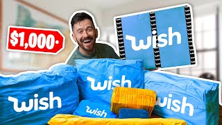 $1,000 Wish Mystery Box Unboxing!!