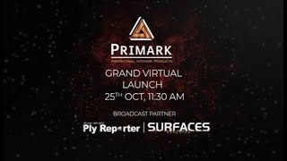 Witness the Grand Virtual Launch of PRIMARK - 25th October | 11:30 AM