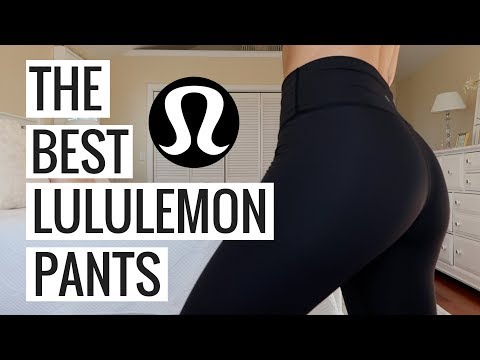 LULULEMON COLLECTION TRY ON HAUL + THE BEST LULULEMON PANTS EVER   Molly J Curley