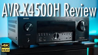 Denon AVR-X4500H Receiver Review | Is THIS the one to get?? [4K HDR]
