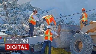 """Bomberos se centran en la """"recuperación de cadáveres"""" bajo los escombros del puente que colapsó en M"""