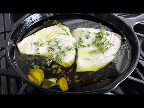 Olive Oil Poached Tuna – How to Make Tuna Confit & Conserva