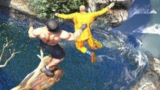 GTA 5 Epic Ragdolls Compilation #13 (Euphoria physics | Funny Moments)