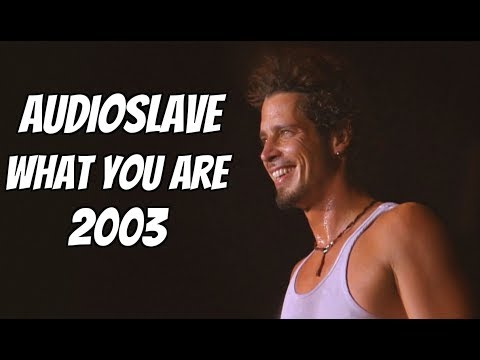 Audioslave - What You Are (Live 2003)