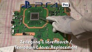 Sony PlayStation 4 Pro PS4 PRO Teardown / Disassembly - CUH