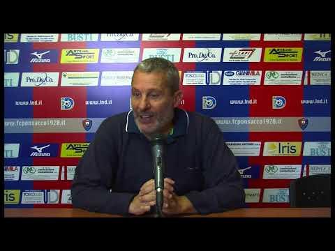Preview video Fc Ponsacco 1920 - Viareggio 1-1: parla l'allenatore dei rossoblù Giovanni Maneschi