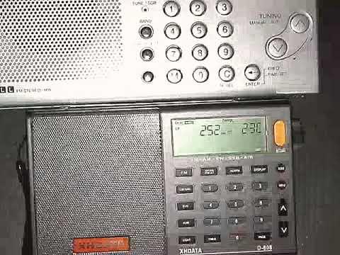 252 kHz. CEZAYIR RADIO 3000 km / XHDATA d-808 & SANGEAN ATS-505