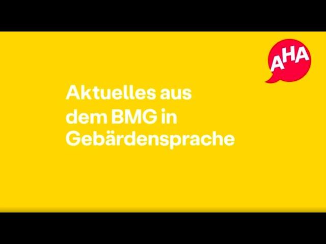 Videouttalande av BMG Tyska