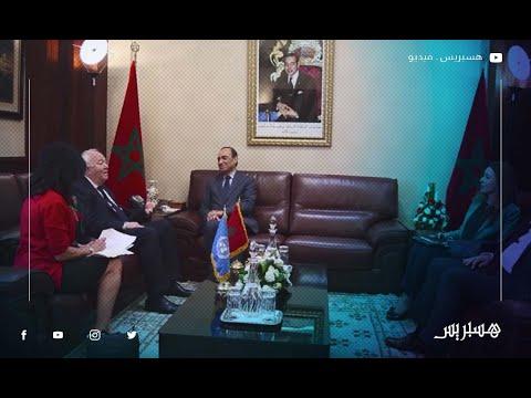 الحبيب المالكي يستقبل المندوب السامي للأمم المتحدة لرابطة الحضارات ميغيل موراتينوس