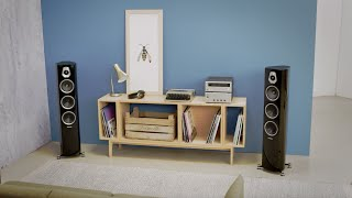 Sonus Faber Sonetto Center I Noyer (photo supp. n°3)