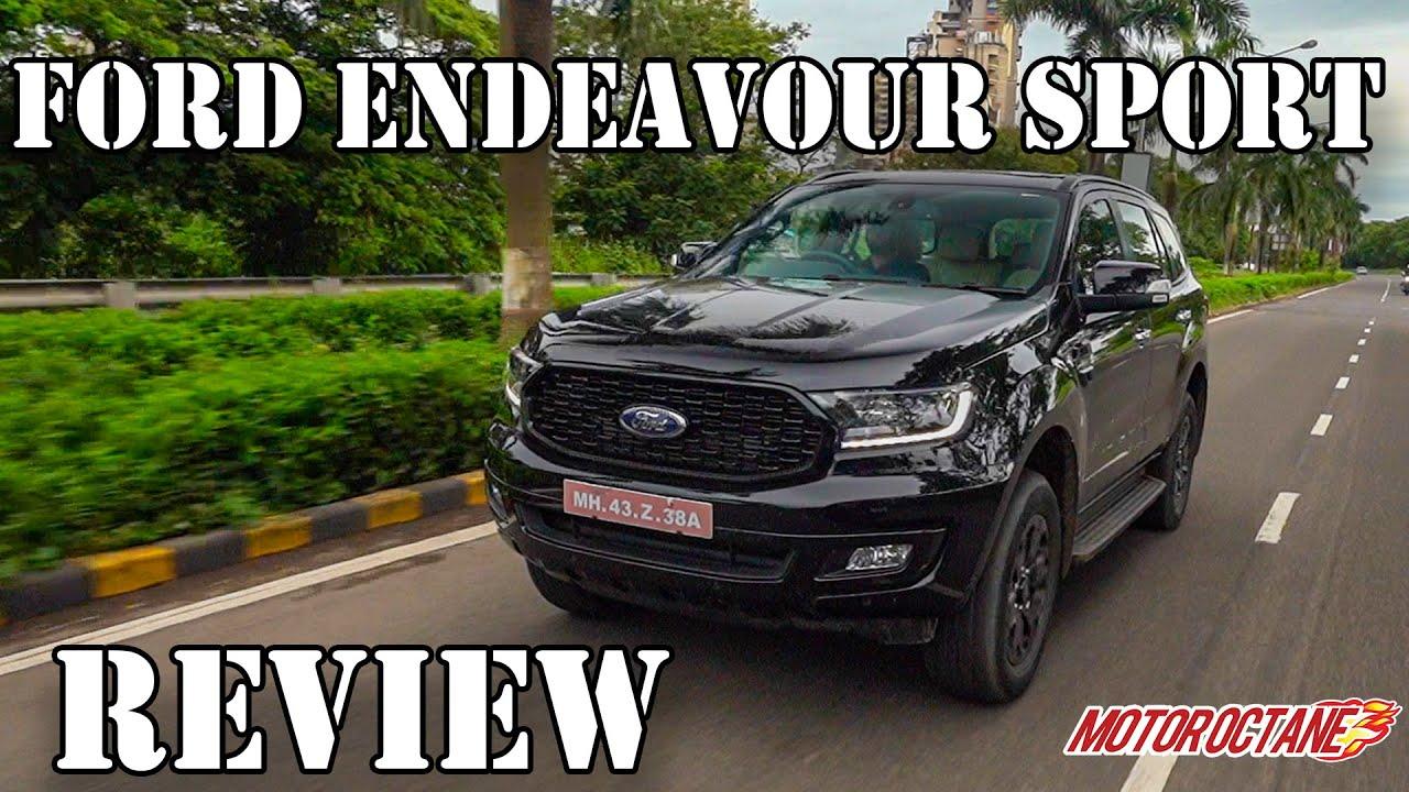 Motoroctane Youtube Video - Ford Endeavour Sport 2020 India - Price, Performance, 4x4, Mileage, Features | ????? | MotorOctane