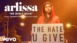 Arlissa   We Won't Move (Audio)