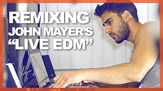 Remixing John Mayer's Instagram Guitar Riff Into A Full EDM Track!