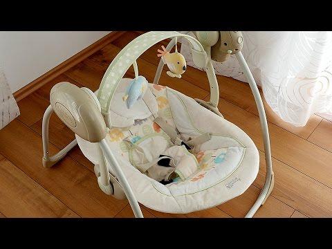 Bright Starts 7130 Elepaloo Babyschaukel // Babywippe // Swing // deutsch