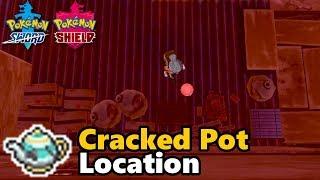 Pokémon Sword and Shield - Cracked Pot Location