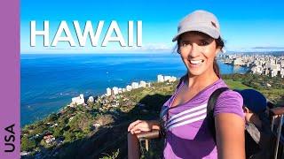 Honolulu, Hawaii! Wandern Diamond Head Vulkan   Oahu vlog 2