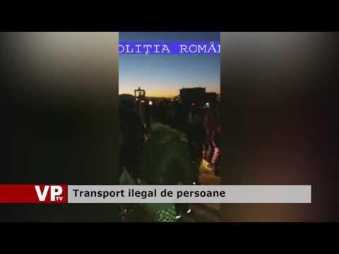 Transport ilegal de persoane