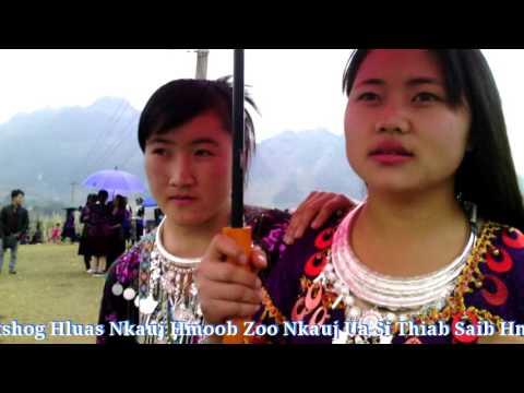 Hluas Nkauj Hmoob Zoo Nkauj Dhia Peb Caug Xyoo Tshiab 2017