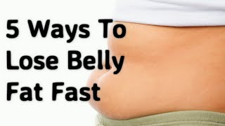 5 Safe Ways to Lose Belly Fat For Teenagers At Home In A Week