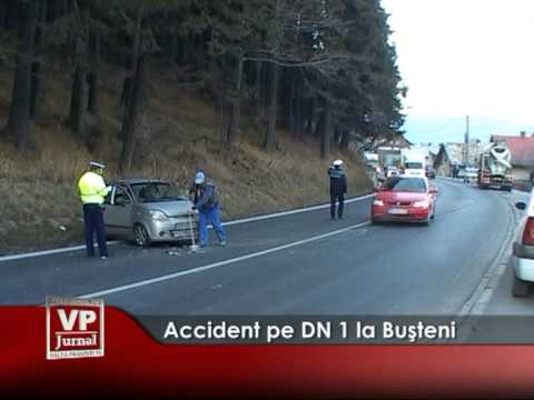 Accident pe DN 1