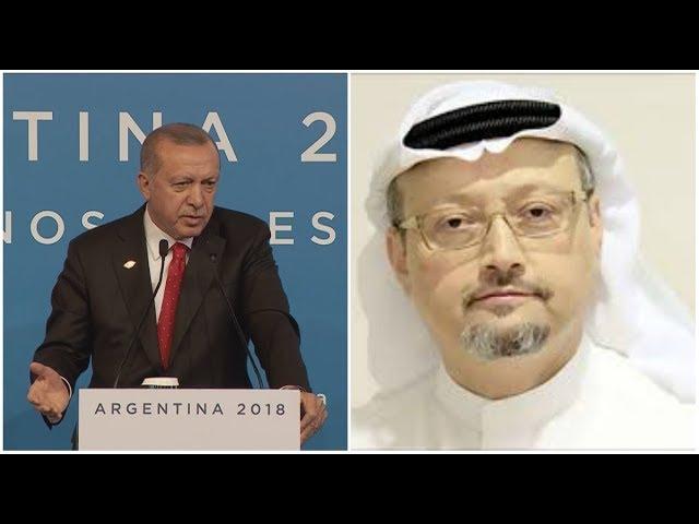 أردوغان يحرج السعودية بقمة العشرين بسبب خاشقجي